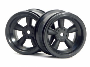 HPI Vintage 5 Spoke Wheel 31mm Black #3821 (2P)