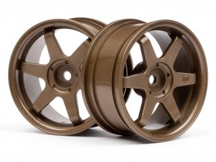 HPI On Road Wheel 26mm Bronze #3843 (2P)