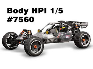 HPI Baja 5B Clear Body #7560