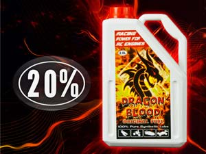 Dragon Blood Fuel 20% Nitro (2L)