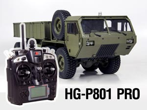 1/12 US Military Truck 8X8 Full Option #HG-P801