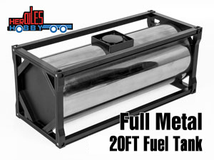 Hercules Full Metal 20 Foot Fuel Tank #HH-140410A