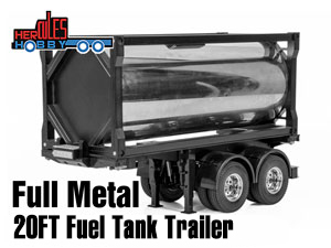 Hercules Full Metal 20 Foot Fuel Tank Trailer (1/14)