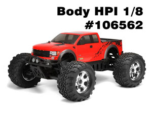 HPI Body FORD F-150 SVT RAPTOR #106562