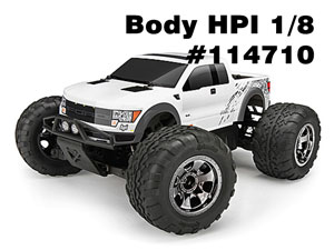 HPI 1/12 Body FORD F-150 SVT RAPTOR #114710