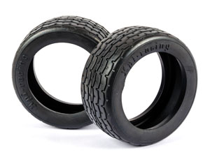 HPI Vintage Racing Tires 26mm #4793 (2P)