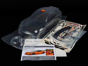 HPI 1/10 Body Porsche 911 GT3 RS (200mm) #17541