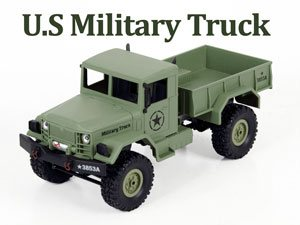 HengLong 1/16 US Military Truck 4WD Green