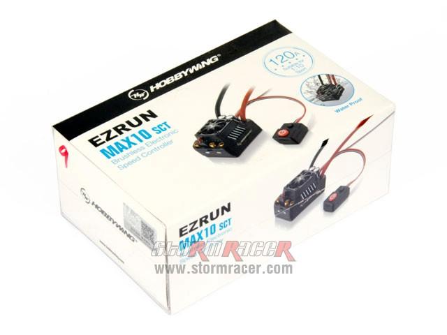 HobbyWing ESC EZRUN Max10 120A 001