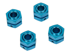Hongnor 1/8 Lock Nut Blue #X1-26-4 (4P)