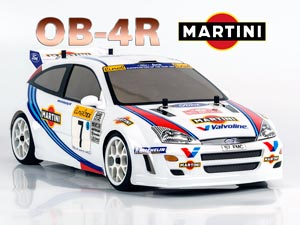 Magic 1/10 On road OB-4R MARTINI Racing