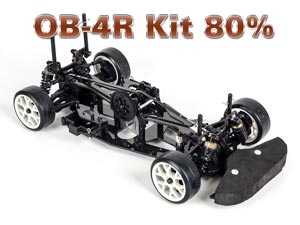 Magic Carbon OB-4R Electric Kit 80% On Road