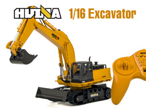 1/16 RC Excavator with 11CH Radio #1510