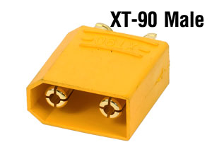 Connector XT90 Male (Giắc Cắm Đực 5mm)