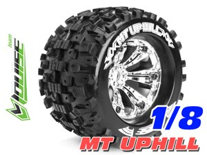 Louise MT-UPHILL Tires Set 1/8 Monster (Chrome) 2P