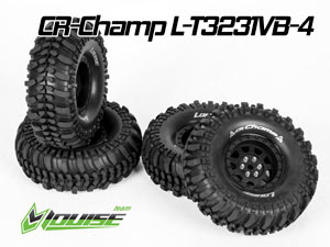 Louise 1/10 Tires Set CR-CHAMP #L-T3231VB-4P
