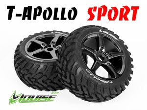 Louise 1/8 Truggy Apollo Chrome SPORT (2P)