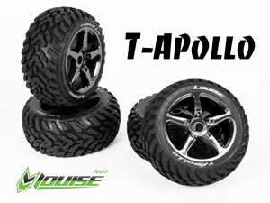 Louise 1/8 Truggy Apollo Chrome L-T3252SBC SOFT