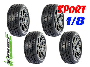 Louise B-Rocket 1/8 Buggy Tires (4P)