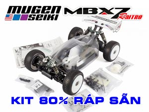MugenSeiki Buggy 1/8 MBX-7R Kit Assembly