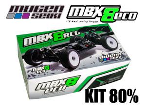 MugenSeiki Buggy 1/8 MBX-8 ECO (Kit 80%)