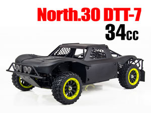 North 30 DTT-7 Gas Car 1/5 RTR 34cc (4WD)