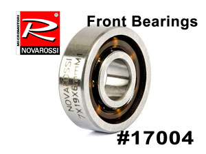 NovaRossi Front Bearings for P5-XLT #17004