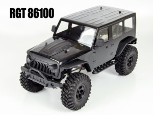 Jeep Wrangler 1/10 Crawler RTR 2.4G Black Version