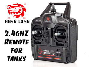 Remote HengLong 2.4G for Tanks New Version.2