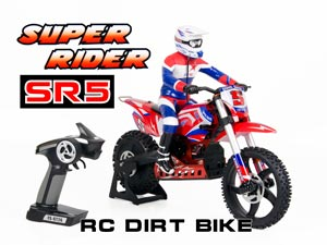 RC Moto Super Rider SR5 1/4 Scale Brushless