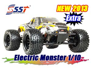 SST Electric Monster Truck 1/10 RTR (50km/h)