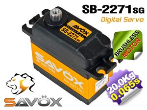 Savox HV Brushless Digital Servo #SB-2271SG