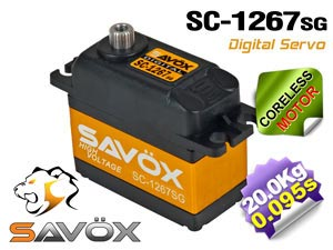 Savox Coreless Digital HV Servo SC-1267SG
