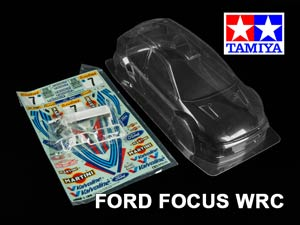 Tamiya 1/10 Body Ford Focus WRC #50847