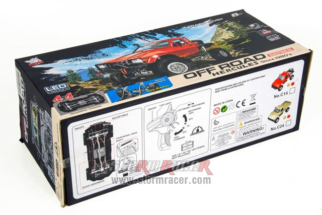 WPL-C Off Road 1/16 Crawler 4WD Car RTR 014