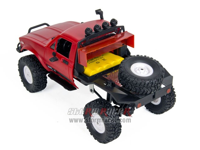 WPL-C Off Road 1/16 Crawler 4WD Car RTR 015