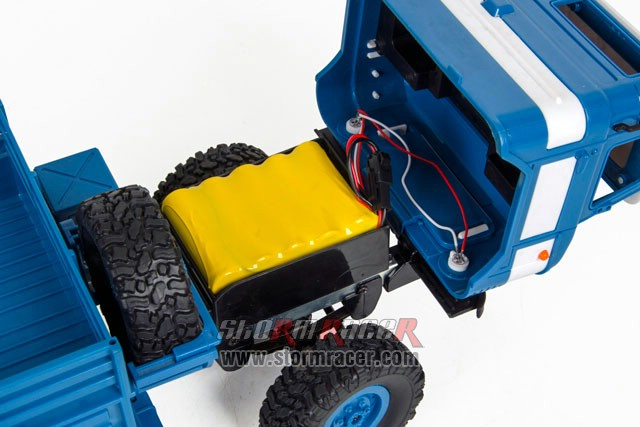 WPL-B Military Truck 1/16 Off Road 4WD Car RTR 016