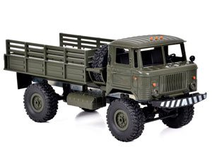 WPL-B Military Truck 1/16 Off Road 4WD Car RTR