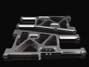 Hongnor Front Lower Arm CNC (Pair) #X1-35F-SR