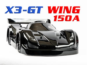 Hongnor X3-GT WING Brushless 150A (135km/h)