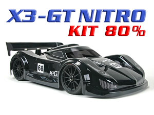 Hongnor X3-GT Nitro Racing (Kit 80%)