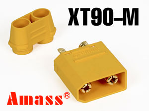 Amass Connector XT90 Male (5.0mm)