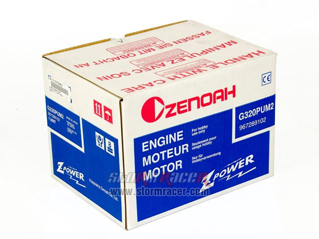 Zenoah G320PUM2 Engine with WT-1048 #967289102 001