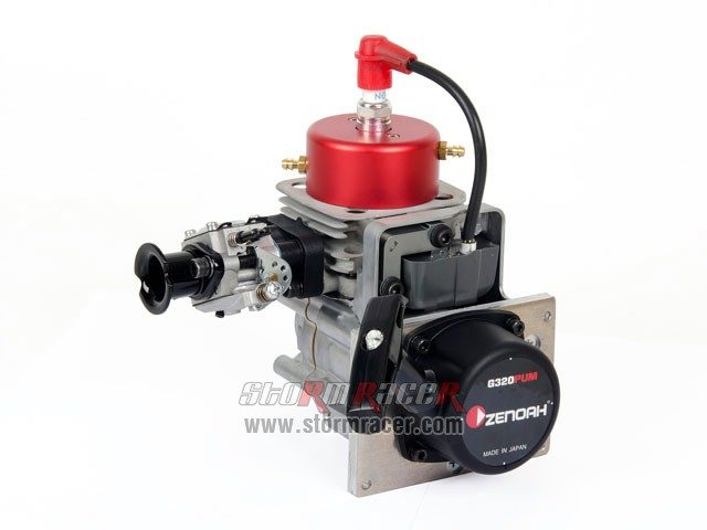 Zenoah G320PUM2 Engine with WT-1048 #967289102 008