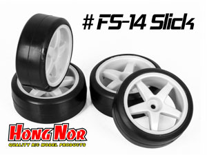 Hongnor 1/10 Onroad Tires #FS-14 Slick