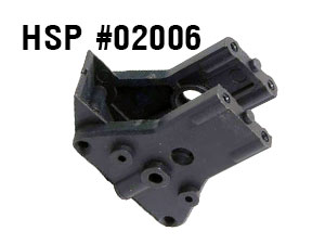 HSP 1/10 Center Diff. Mount #02006
