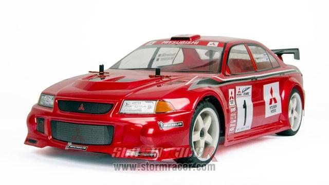 HPI Body Mitsubishi Lancer Evo3 #7348 006