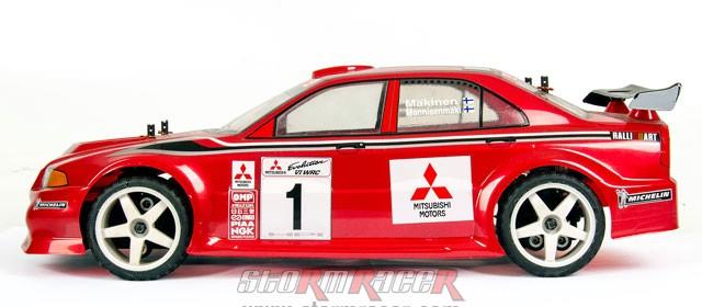 HPI Body Mitsubishi Lancer Evo3 #7348 008