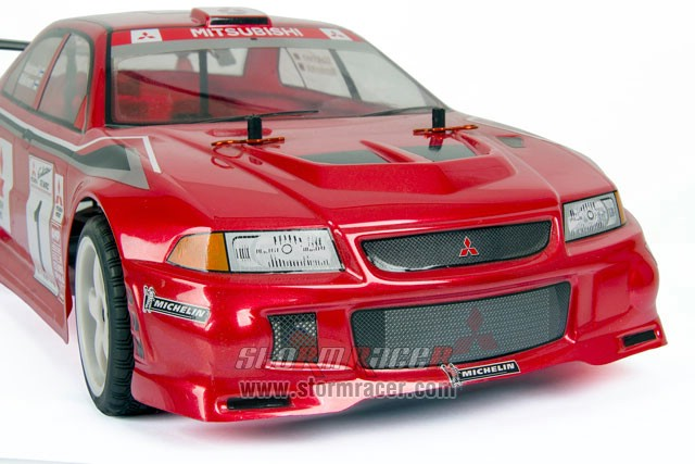 HPI Body Mitsubishi Lancer Evo3 #7348 010