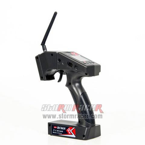 Remote RadioLink RC6GS (2.4G-6CH) w/R6FG receiver 010